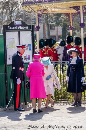 Queen's 90th birthday-Her Majesty the Queen and VIP Guest