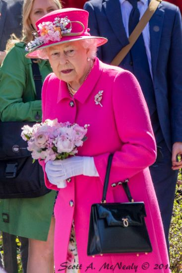 Her Majesty The Queen at Queen's 90th birthday