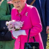 Her Majesty The Queen at Queen's 90th birthday-0812