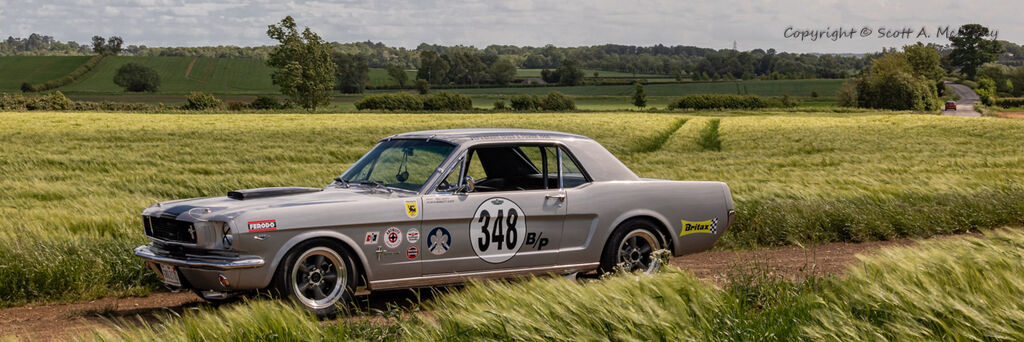 1966 Mustang 302-drivers side pano