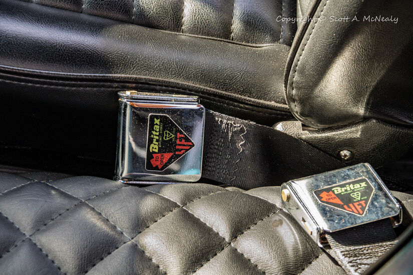 1966 Mustang 302-Seatbelt detail