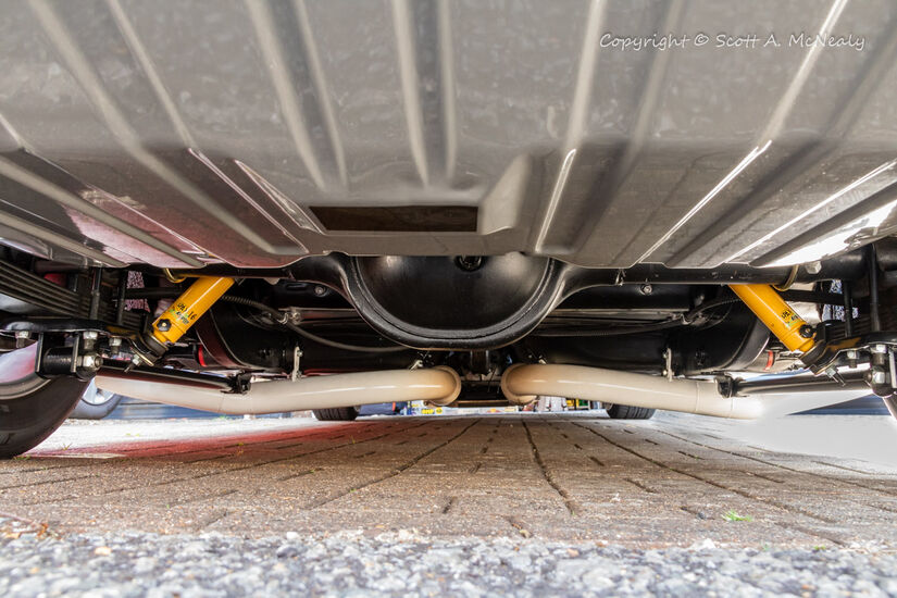 1966 Mustang 302-Undercarriage detail