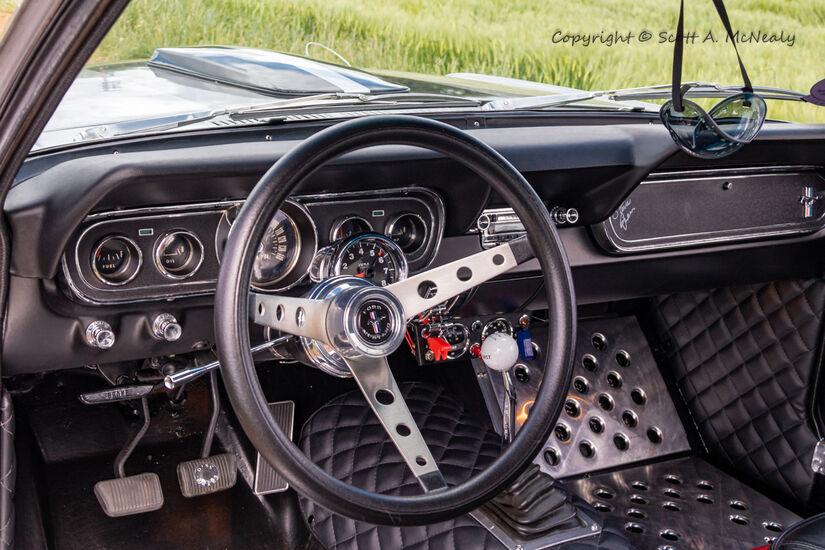 1966 Mustang 302 dash