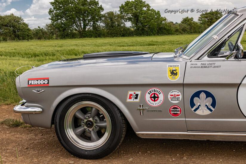 1966 Mustang 302 front quarter