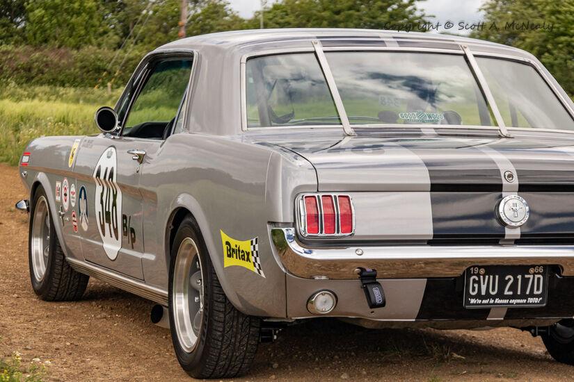 1966 Mustang 302 rear