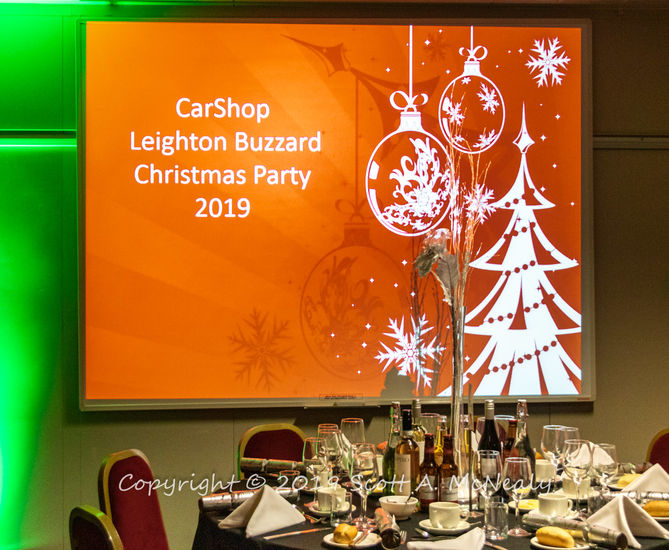 Carshop Leighton Buzzard Christmas Party 2019