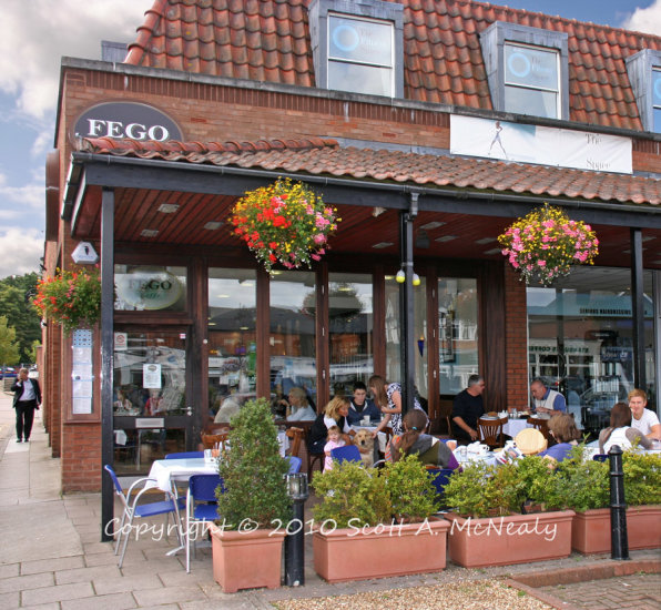 Fego Cafe Ascot-Published in Berkshire Life Magazine