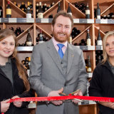 Majestic Wine Gerrards Cross-Red Ribbon cutting with Fine Wine-0047