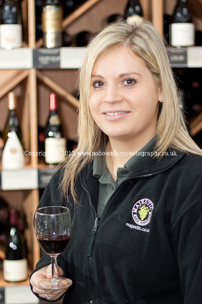 Majestic Wine Gerrards Cross-Store Manager with Red Wine