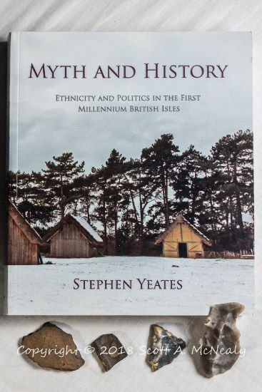 Myth and HIstory by Stephen Yeates with artefacts Cover image by Scott A. McNealy