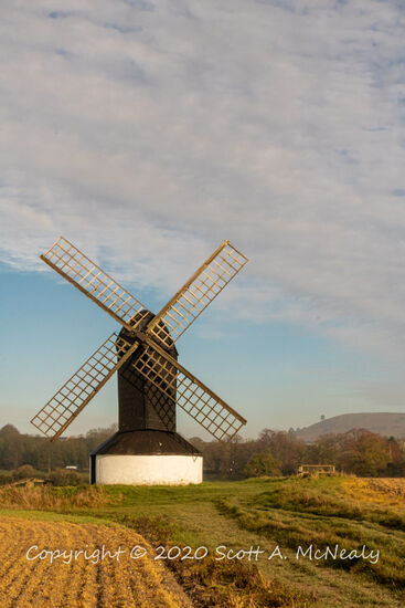 Pitstone Windmill and Ivinghoe Beacon