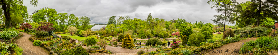 RHS Wisley-Pano view from Rock Garden