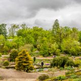 RHS Wisley-Pano view from Rock Garden-