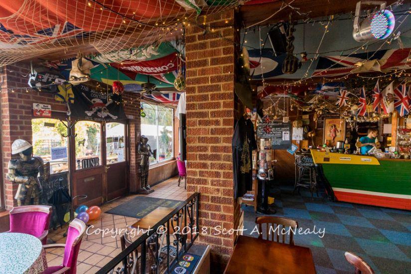 The Bounty Pub-inside-front door-8153
