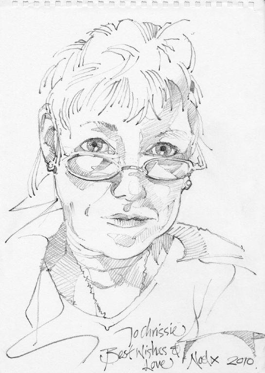 Chrissie Sketch