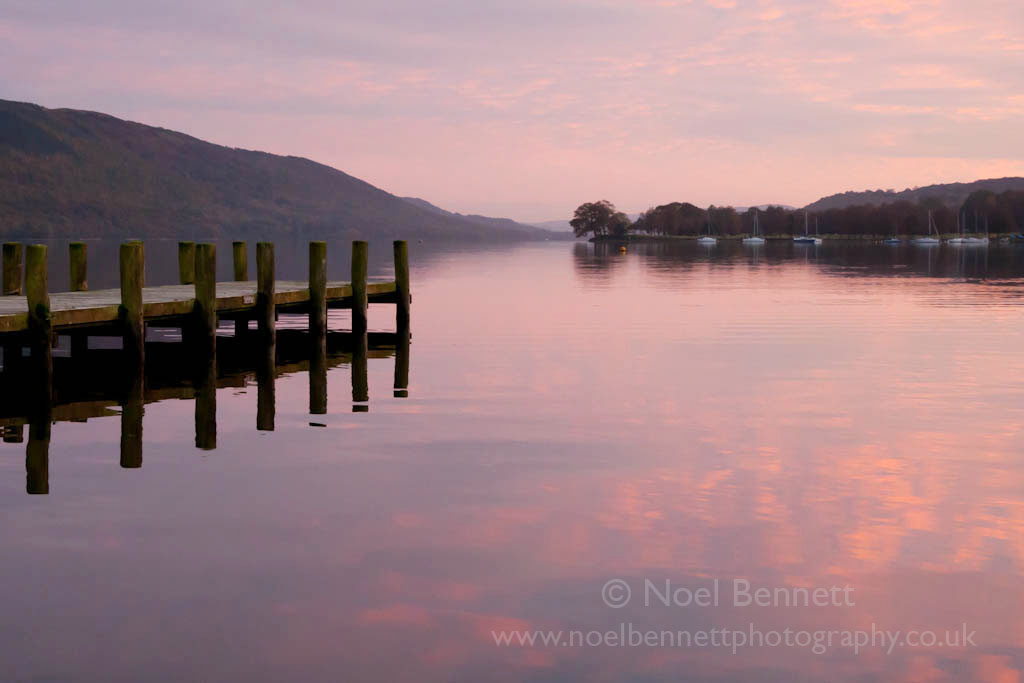 Sunset Over Coniston Water