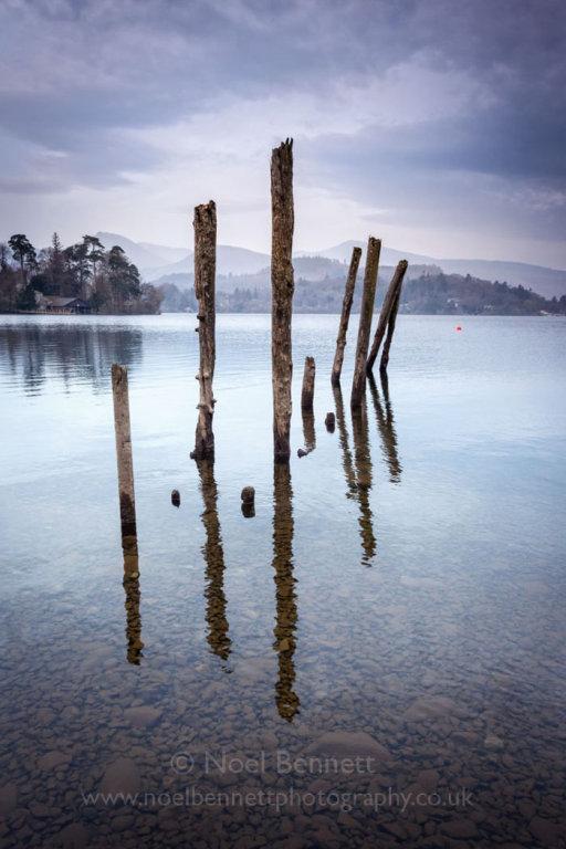 Poles In Water