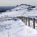 Winter On The Roaches