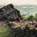 Evening Light On The Roaches
