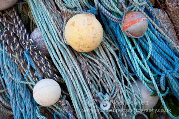 Ropes at Sennen Cove