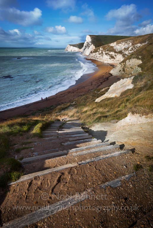 Steps to Durdle Door Beach