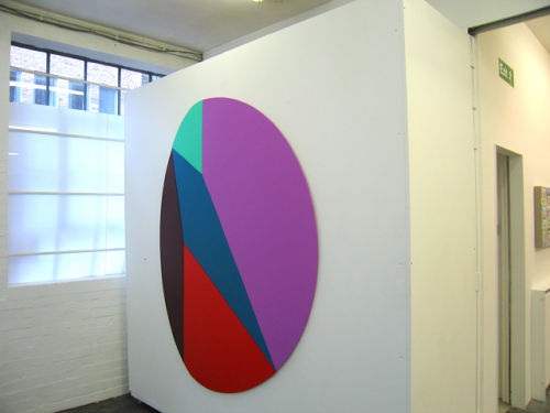 Geometry  and Colour, group show, The Poussin Gallery, London  2008