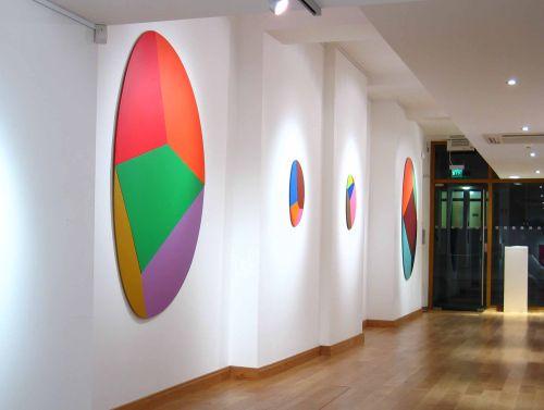 Different View 2 Person Show Spectrum Fine Art London 2004