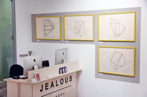 Drawing Lines Group Exhibtion,The Jealous Gallery London 2016
