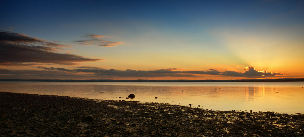 Strangford Lough Sunset 1