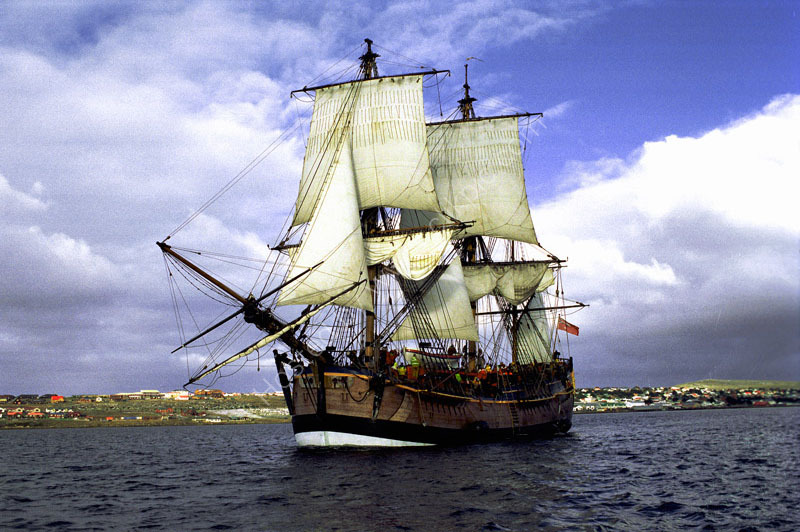 The Barque-Endeavour