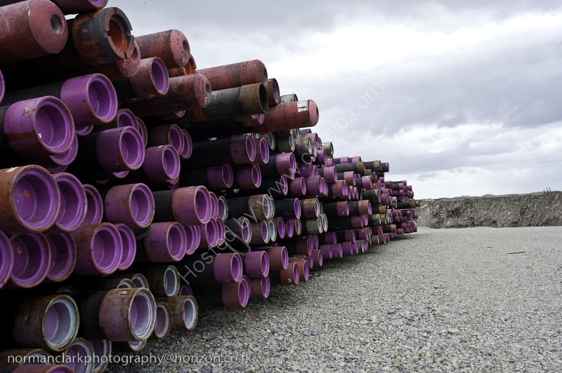 Oil Exploration 2010-4269<br> Seamless Tubing at The Lay Down Area