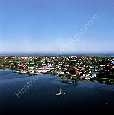 Stanley Harbour Yacht Aerial1
