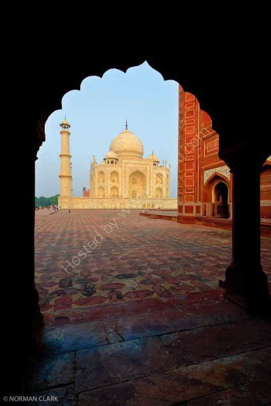 DSC1834 The Taj Mahal at Sunrise