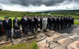 Royal Marine Association Members, Parade at Spean Bridge