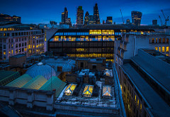 City Rooftops.  Photographer:  Mike Hewson