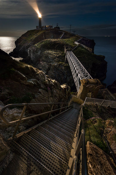 Dark Path to South Stack