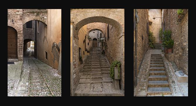 Spello Alleyways