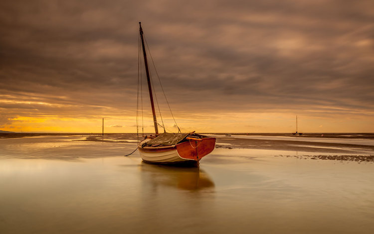 STRANDED BY THE TIDE