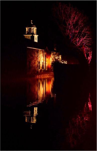 Dunham Massey NIght Reflections