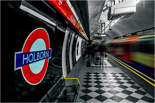 Mind the Gap (The Underground logo is reproduced by kind permission of Transport for London)