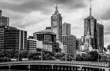 Melbourne in Mono