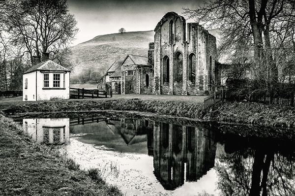 The Abbey Reflects