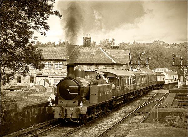 Steaming through Grosmont