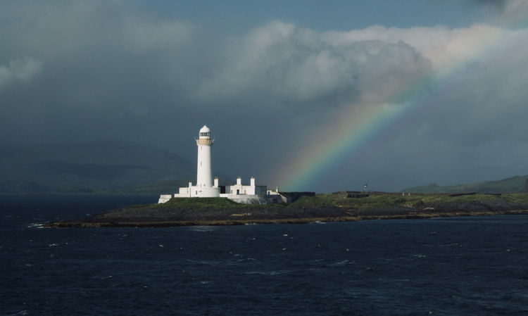 Rainbow at Lismore Lighthouse