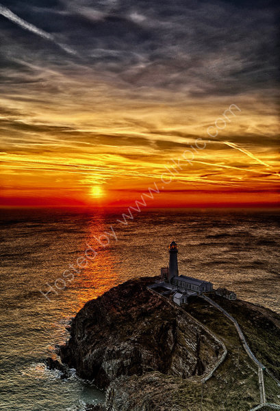 Sunset Over South Stack