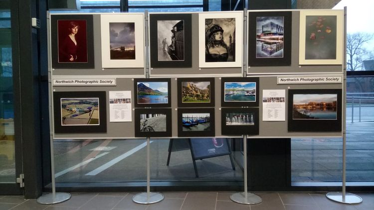 Print Exhibition, Memorial Court, Northwich