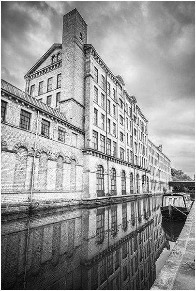 MOORED BY T' MILL