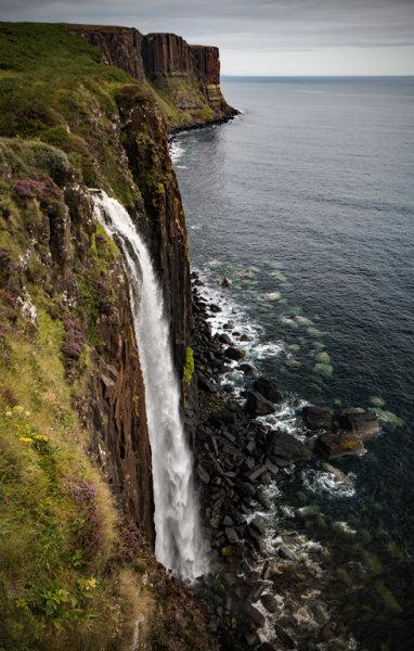 MEALT FALLS ISLE OF SKYE