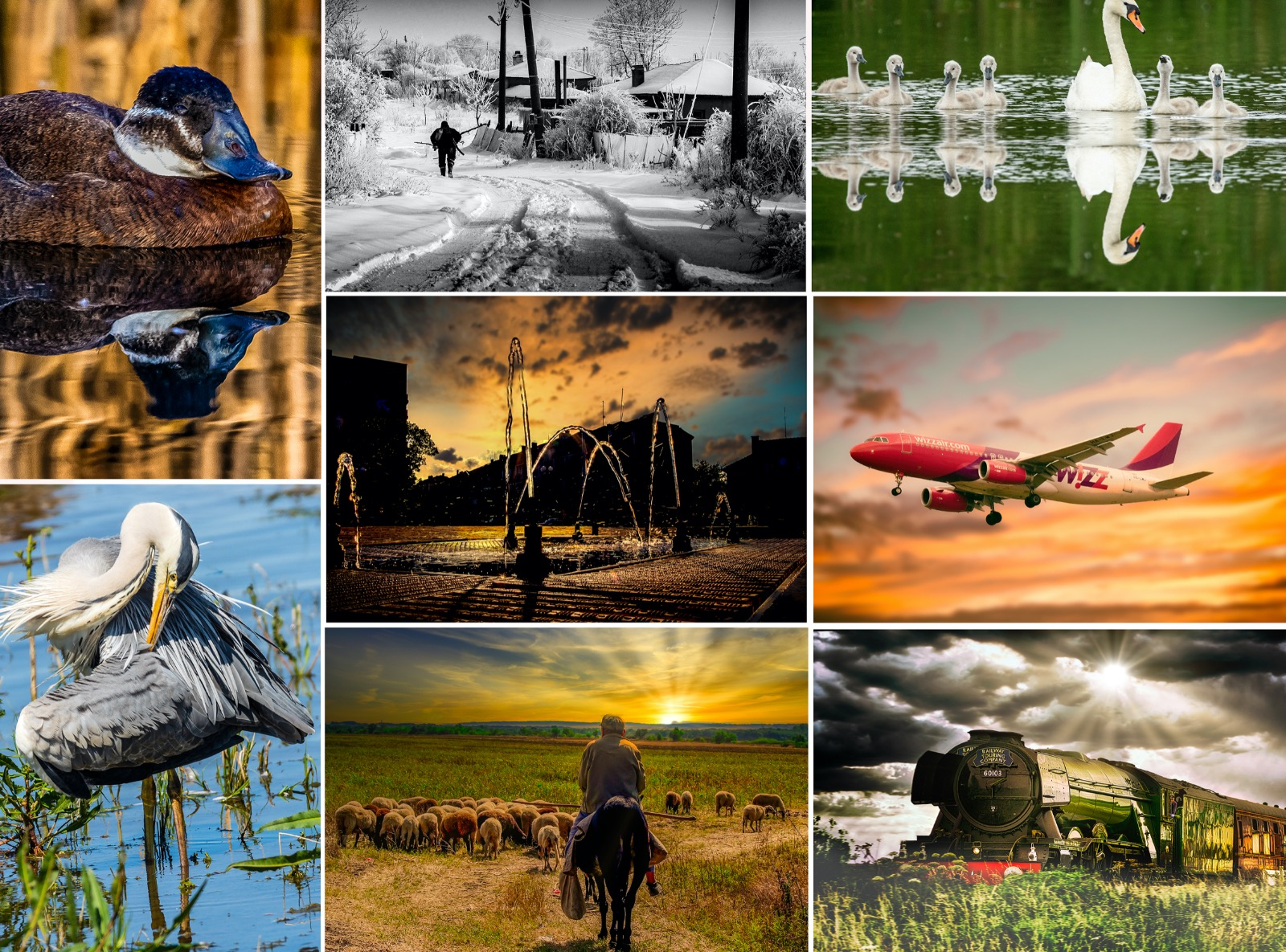 Editorial weather photographs by Cliff Norton NPA