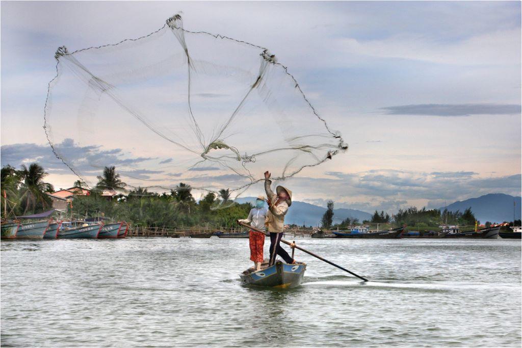 Jill Toman Fisherman Vietnam.